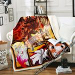 Nine-tailed Fox Sofa Throw Blanket DNL1601