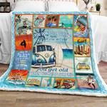 Love Surfing  Sofa Throw Blanket