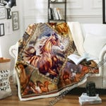 Born To Run - Horse Sofa Throw Blanket SLB43