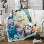 Swan Lover Sofa Throw Blanket P333