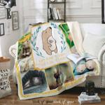 Rats Make Me Happy Sofa Throw Blanket D1341