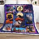 Halloween Owl  Sofa Throw Blanket