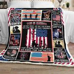 American Patriot Sofa Throw Blanket NH17