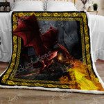 Flying Dragon Sofa Throw Blanket NP84