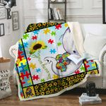 You are my sunshine - Autism Blanket Th531