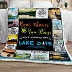 Lake Days Sofa Throw Blanket NH93