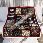 A Hunter's Prayer Hunting Sofa Throw Blanket
