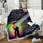 All I Know Is That I Love You Tons And Tons Sofa Throw Blanket NP395