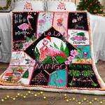 A Very Pink Christmas Sofa Throw Blanket