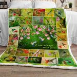 Hummingbird Sofa Throw Blanket NH109