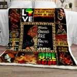 Black Queens Are Born In June Sofa Throw Blanket P553X6