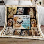 Perfect Golden Dogs Sofa Throw Blanket TTL114