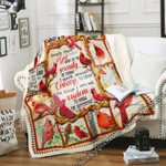 Serenity Prayer - Cardinal Sofa Throw Blanket SHB59