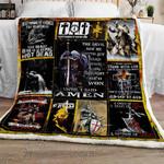 The Christian Warrior Sofa Throw Blanket