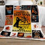 Basketball Sofa Throw Blanket