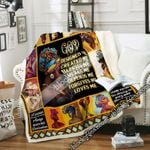 A Woman Who Walks With God Will Always Reach Her Destination, Black Woman Sofa Throw Blanket NP389