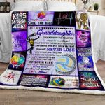 Volleyball Grandddaughter, Love, Mimi Sofa Throw Blanket