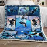 Whale Sofa Throw Blanket TH675