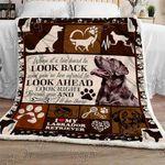 Labrador Retriever Sofa Throw Blanket NP249