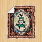 Friends not Food Sofa Throw Blanket HD58