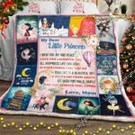 My Dear Little Princess, Mom To Daughter Sofa Throw Blanket  NH227