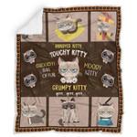 Grumpy Cat ,grrr - Blanket R185