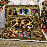 Love of Africa's King and Queen Sofa Throw Blanket CTN85