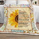 My Sunshine Granddaughter, Love, Dee Dee Sofa Throw Blanket