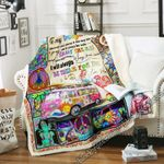 To Hippie Daughter From Mom Sofa Throw Blanket SHB33