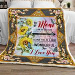 To My Mom Sofa Throw Blanket TH668