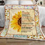 My Daughter I Love You Sofa Throw Blanket