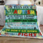 Fight for a Better Day Sofa Throw Blanket NP113