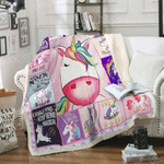 Unicorn Sofa Throw Blanket Th561