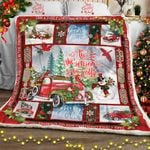 Tis The Season To Be Jolly, Christmas Sofa Throw Blanket