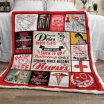 Only Strong Girls Become Nurses Sofa Throw Blanket