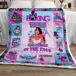 Boxing Girl Sofa Throw Blanket THL962