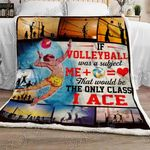 Love Volleyball Sofa Throw Blanket NP137