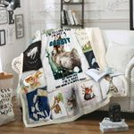 Even The Smallest One Can Change The World Rabbit Sofa Throw Blanket P345
