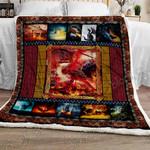 Dragon Sofa Throw Blanket NH78