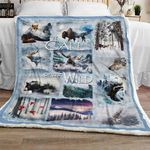 Call Of The Wild Sofa Throw Blanket TH643