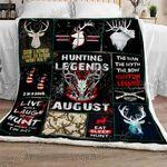 August Hunting Legend Sofa Throw Blanket