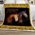 You And Me, We Got This  Sofa Throw Blanket NH55