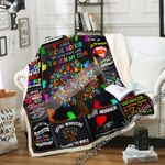 I Became A Social Worker Because Your Life Is Worth My Time Sofa Throw Blanket NH291