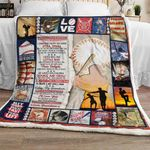 I Am So Grateful You Are My Grandson - Baseball Sofa Throw Blanket
