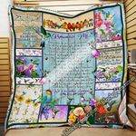 Remember Me With Smiles Quilt Blanket