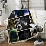 Long Live The King Sofa Throw Blanket TH403