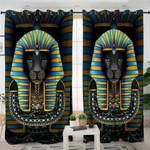 Lion Sacophagus Curtains