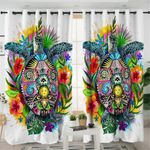 Totem Mythical Turtle Curtains