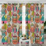 Tribal Owls Curtains