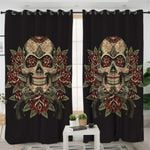 Skull Themed Curtains